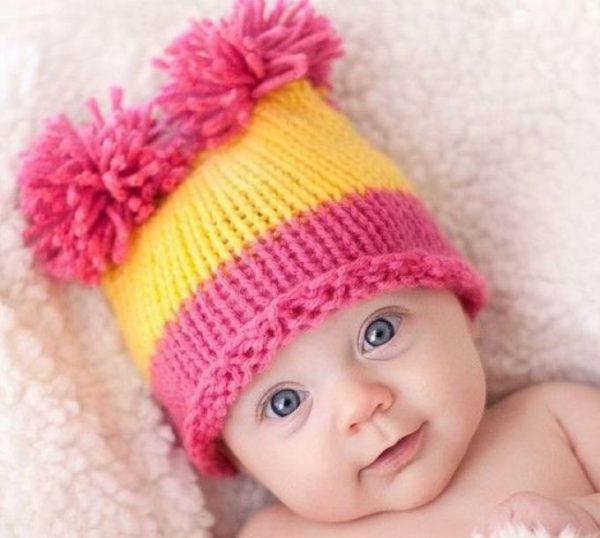 шапки для мальчиков и девочек спицами как связать шапку шлем