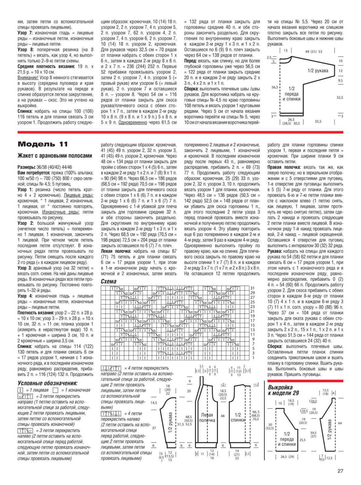 Связать кофту спицами для женщины: новые модели (7)
