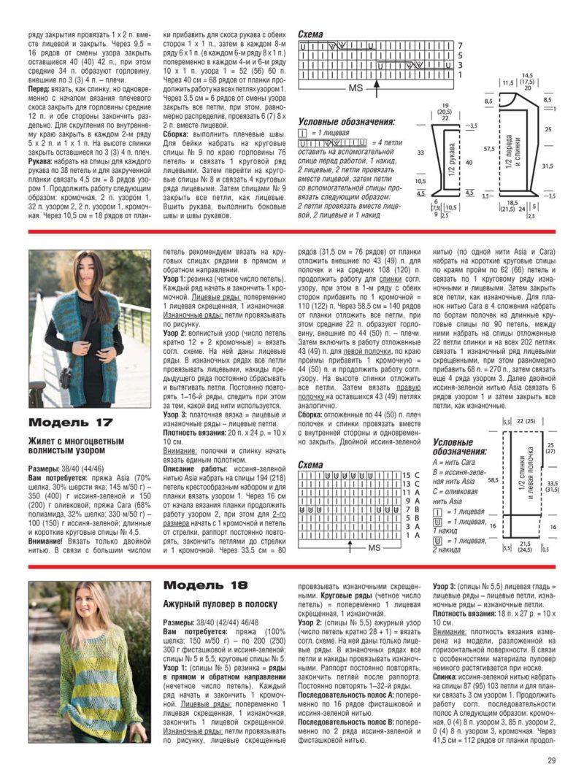Связать кофту спицами для женщины: новые модели (13)