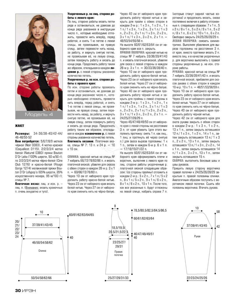 Связать кофту спицами для женщины: новые модели (11)