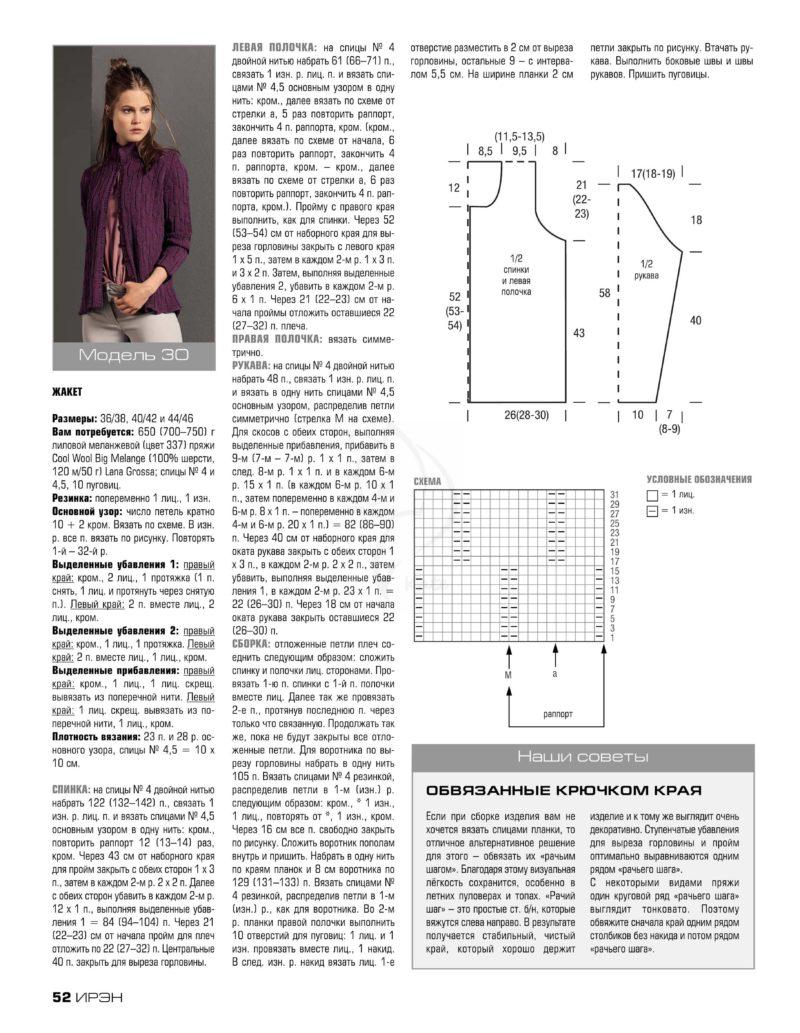 Связать кофту спицами для женщины: новые модели (5)