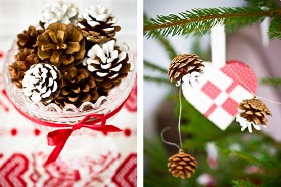 Новогодние поделки из шишек: декор