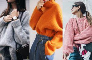 Модели свитеров 2018