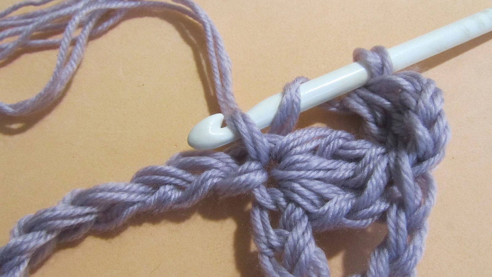 Узоры крючком: узоры для снуда шаг 12