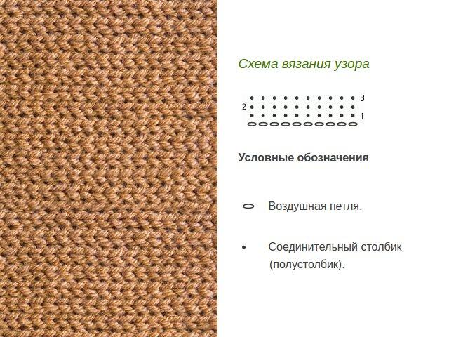 Узоры крючком: узоры плотные (1)