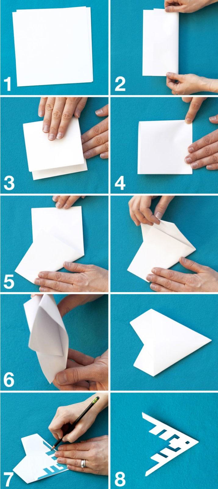 Как сделать снежинку из бумаги: пошаговый мк