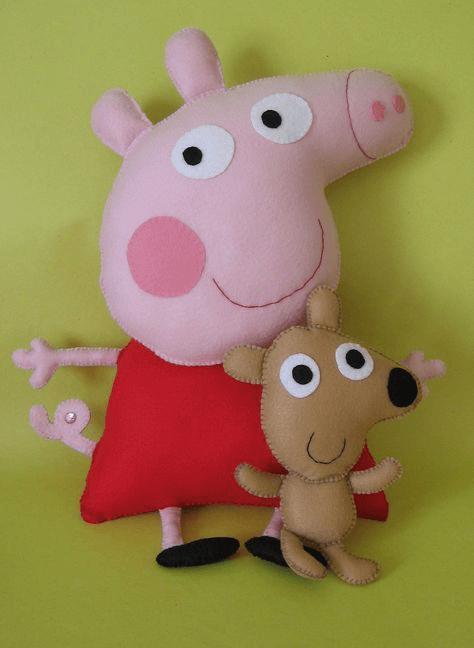Символ 2019 года желтой свиньи своими руками: Пеппа