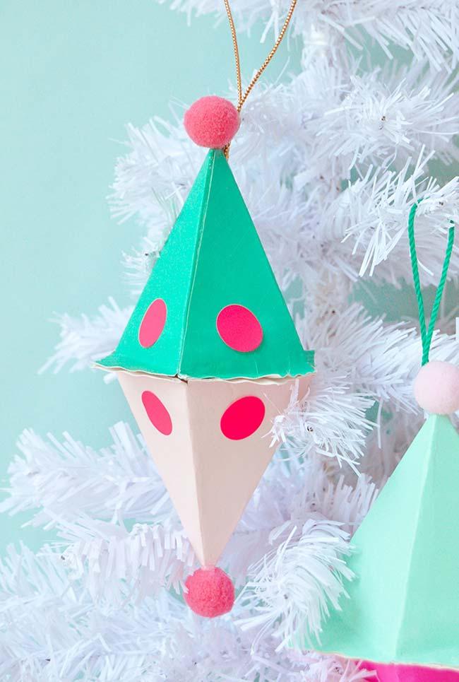Елочные игрушки из бумаги своими руками: украшение