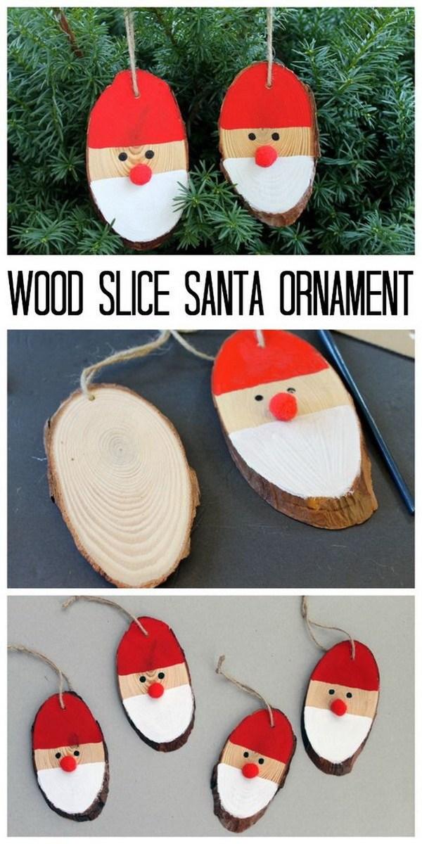 Новогодняя игрушка на городскую елку своими руками: из дерева