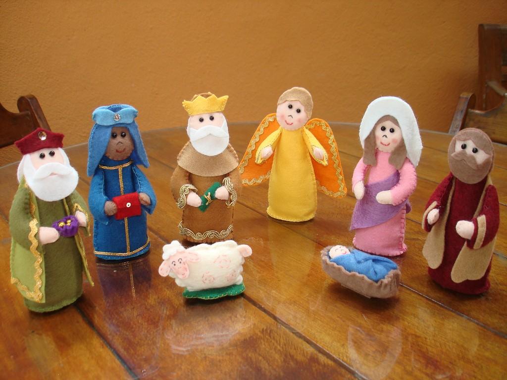 Поделки на Рождество Христово; Вертеп