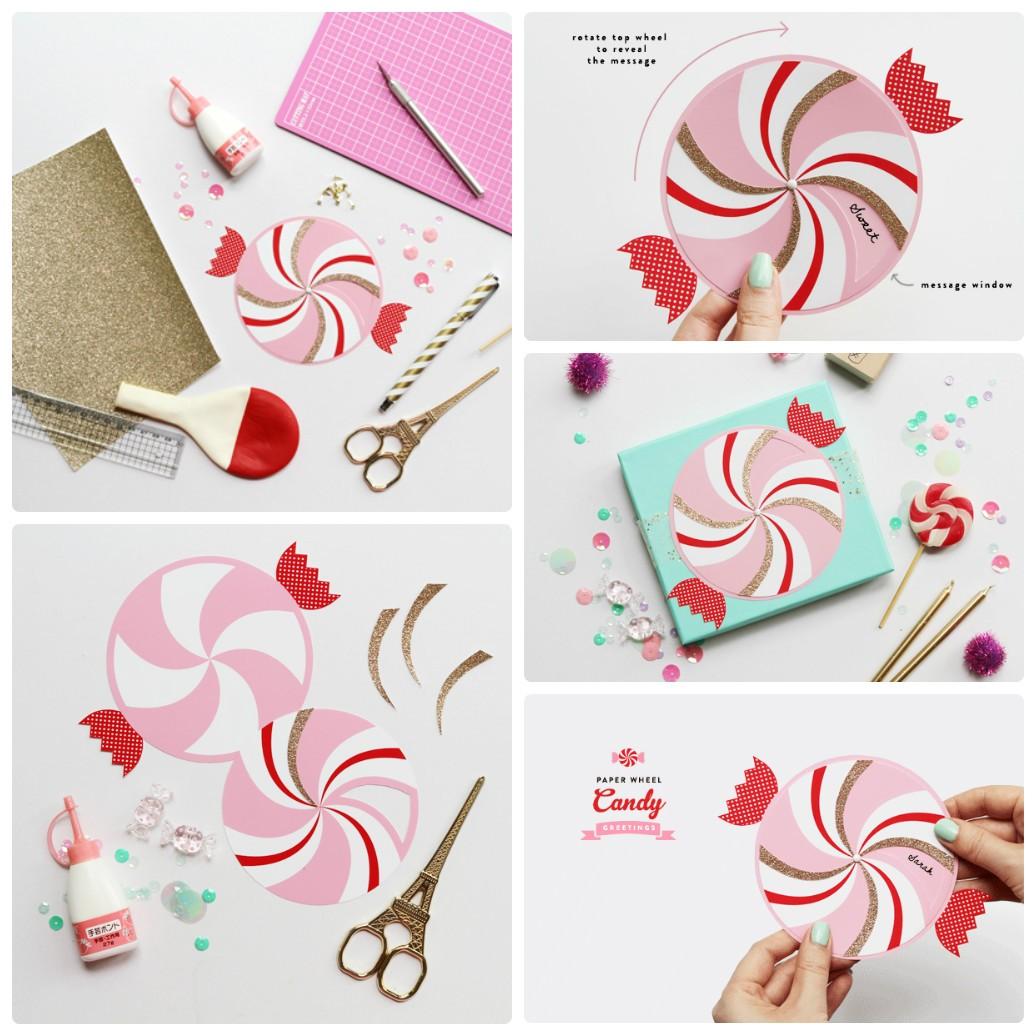 Елочные игрушки из бумаги своими руками: конфета