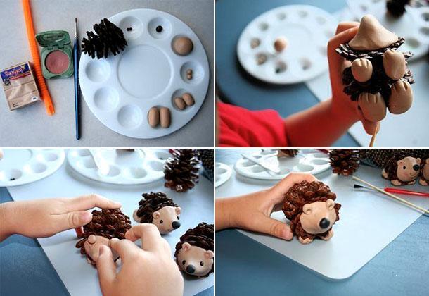Игрушки на елку своими руками из подручных средств: фото 9