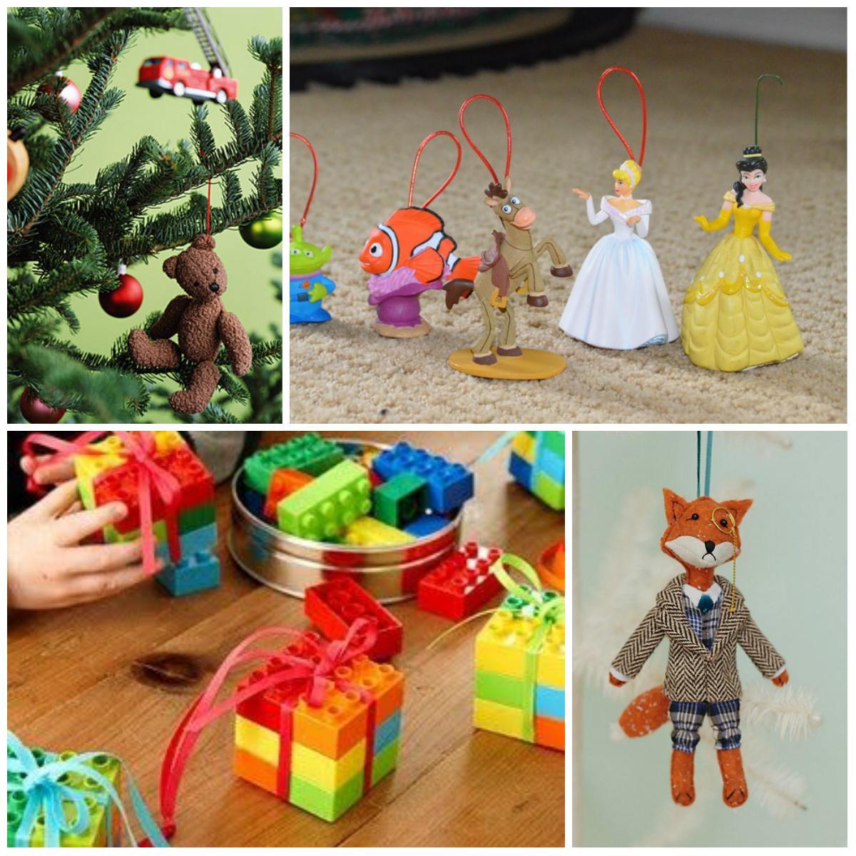 Игрушки на елку своими руками из подручных средств: фото 4