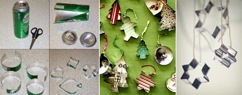 Новогодняя игрушка на елку в детский сад: из шестяной банки
