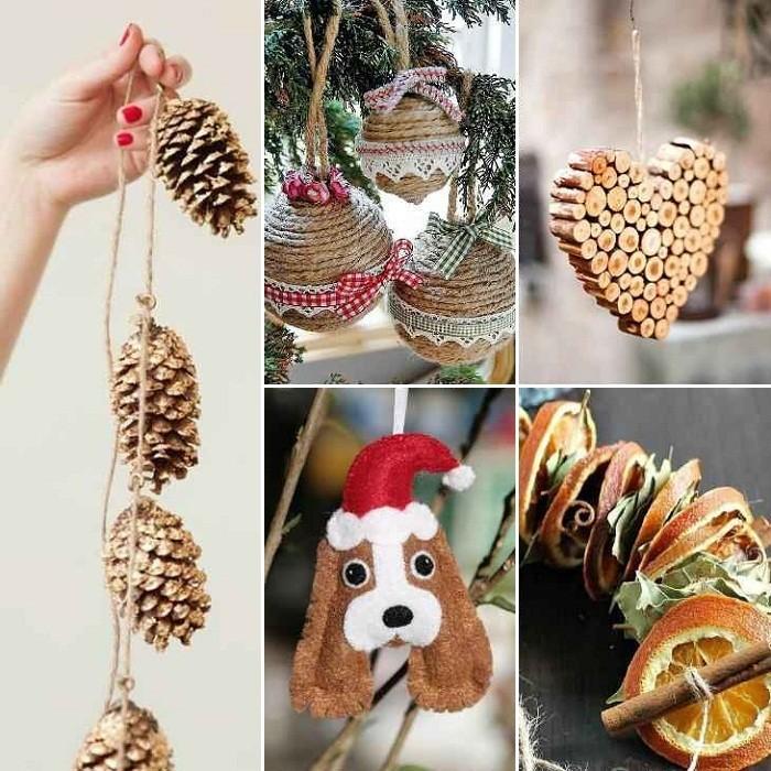 Игрушки на елку своими руками из подручных средств: фото 10