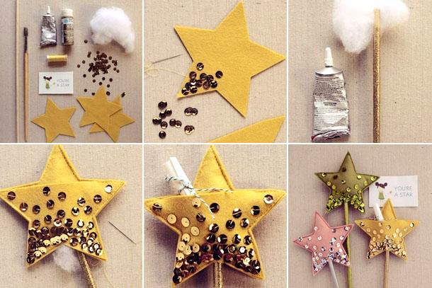 Поделки на Рождество Христово: звезда