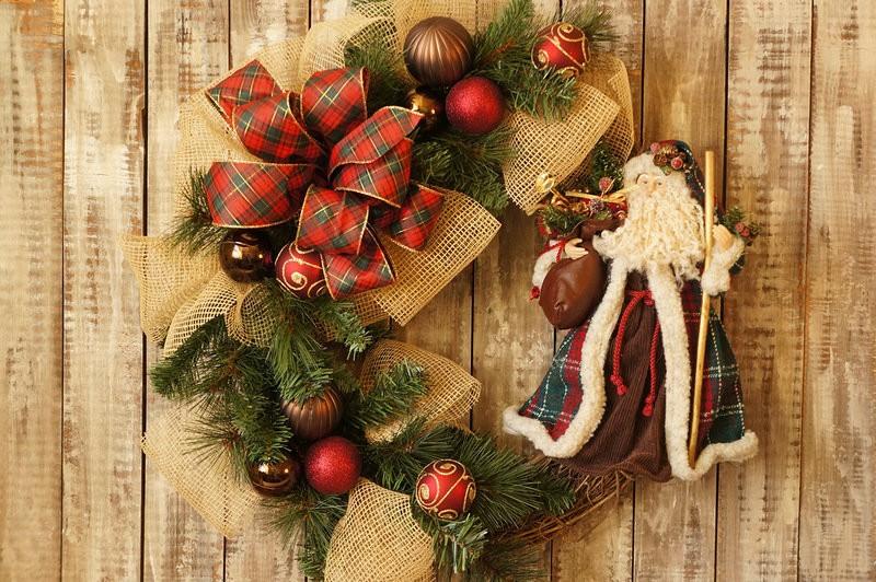 Поделки на Рождество Христово: венок