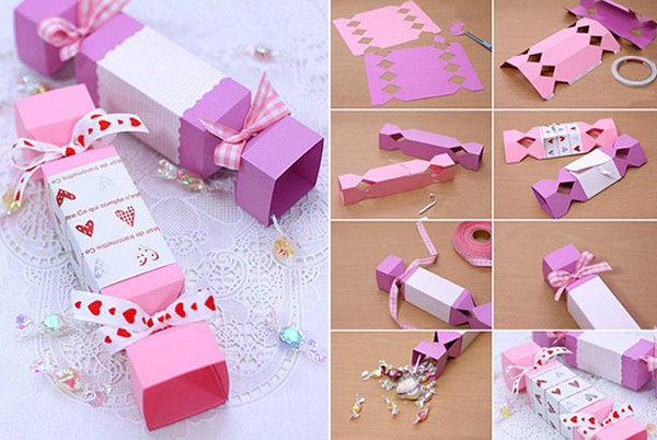 Как упаковать подарок в подарочную бумагу: канфета