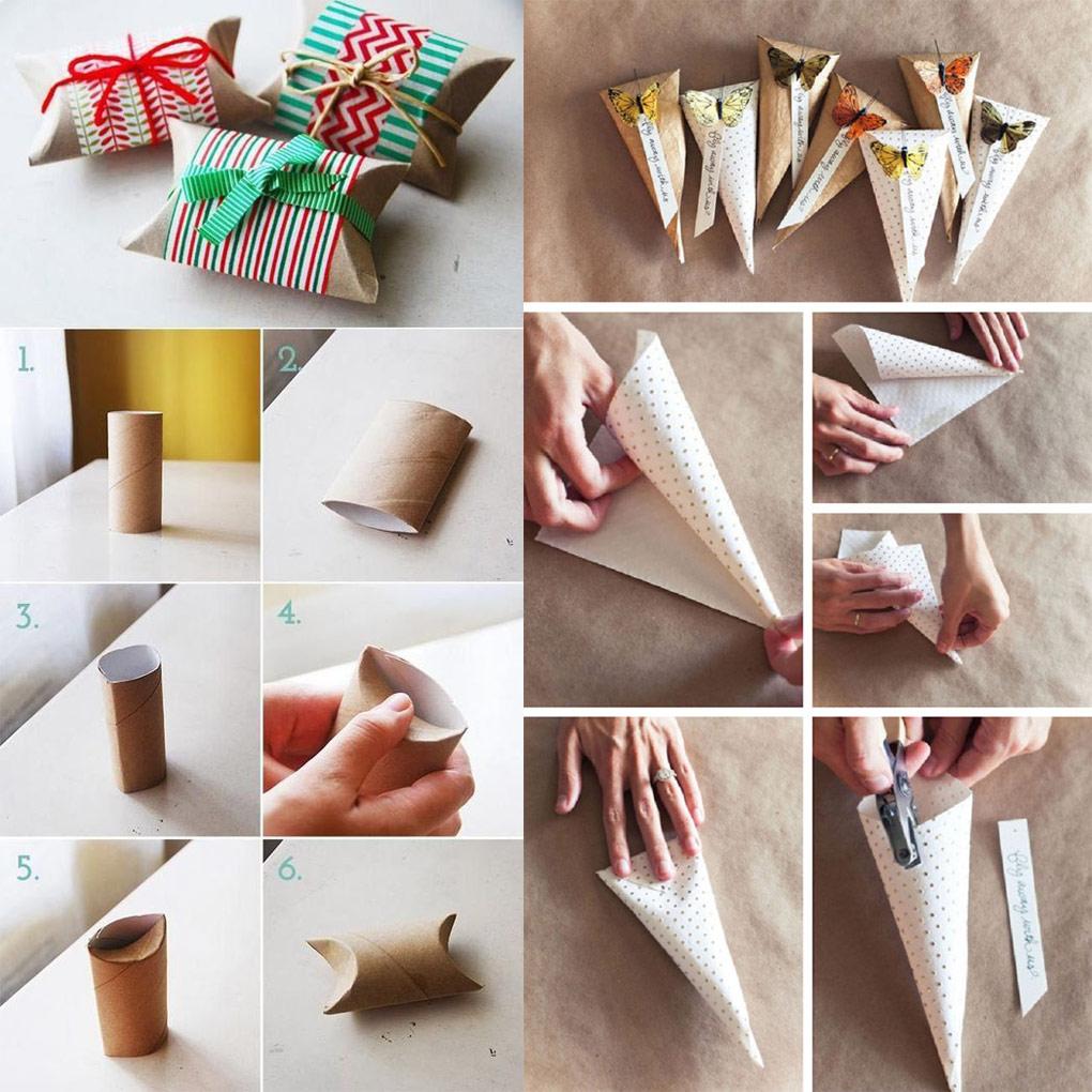Как упаковать подарок в подарочную бумагу: 2 варианта
