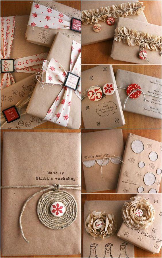 Как упаковать подарок в подарочную бумагу без коробки 1