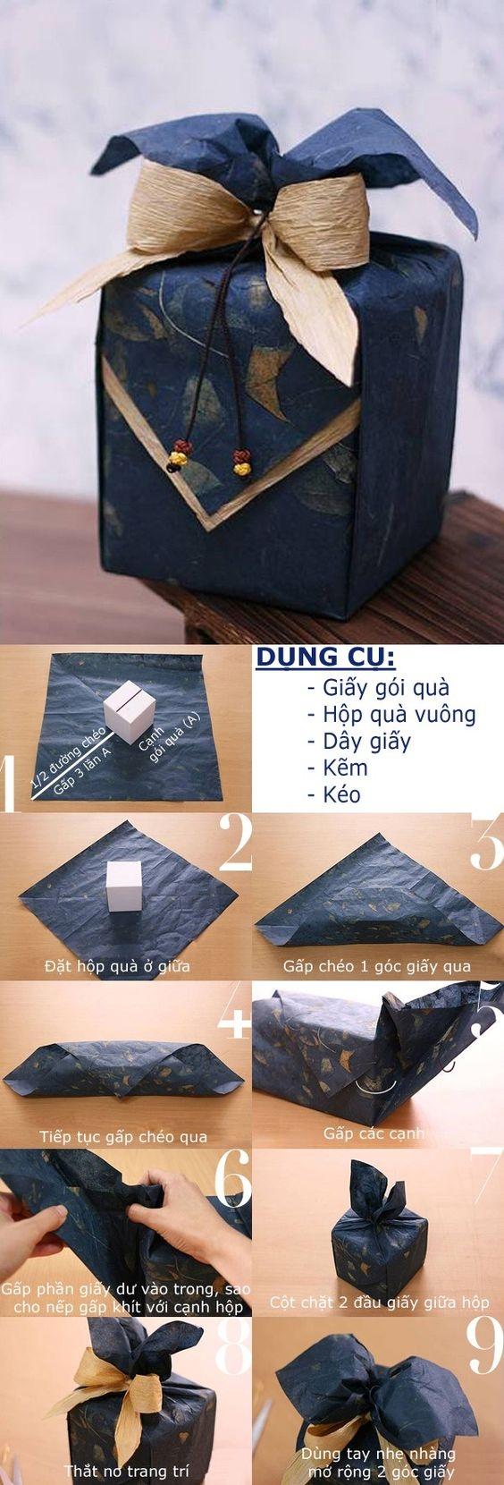 Как упаковать подарок в подарочную бумагу: в гофрированную