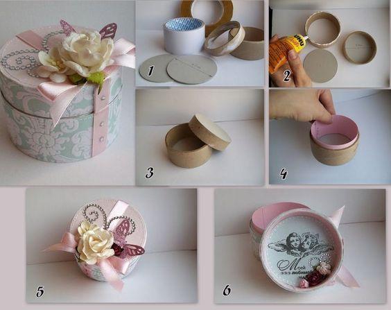 Как упаковать круглый подарок в подарочную бумагу?