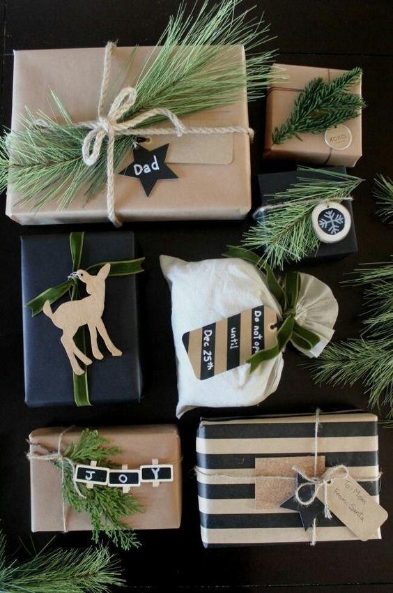 Как упаковать подарок в подарочную бумагу без коробки 3