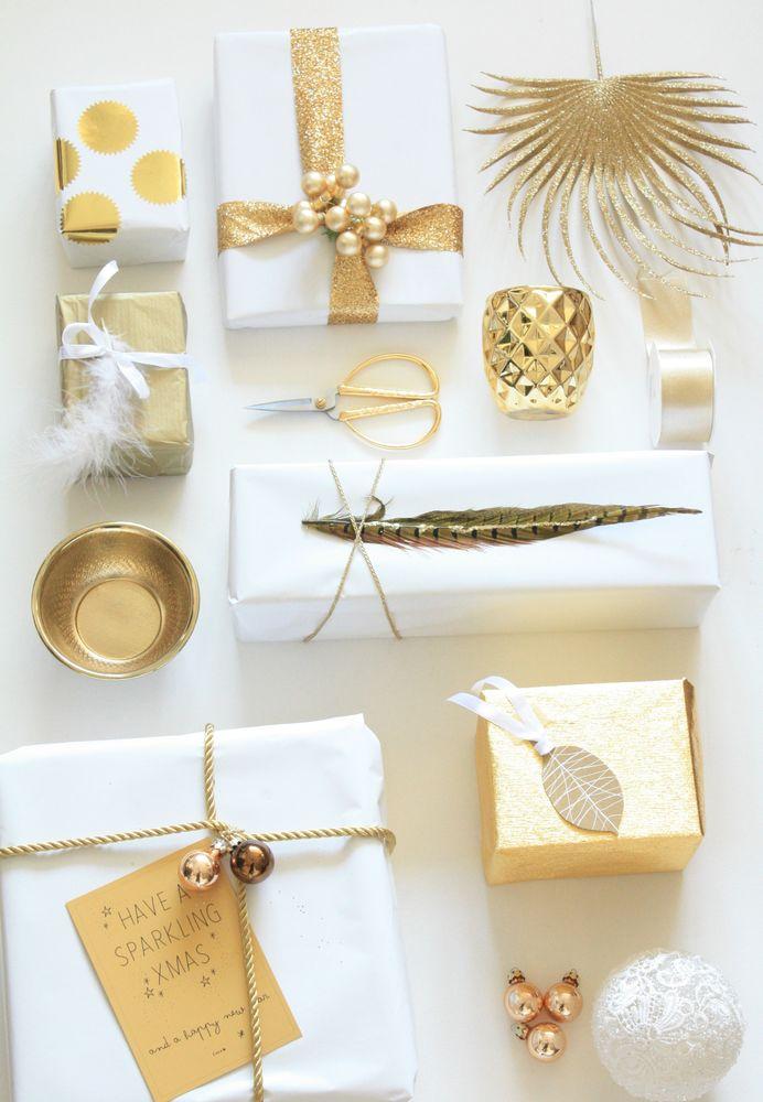 Как упаковать подарок в подарочную бумагу без коробки 2