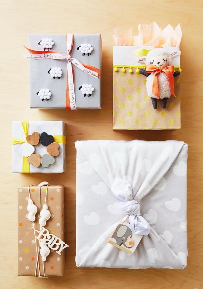 Как упаковать подарок в подарочную бумагу: для ребенка