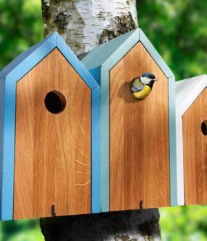 Оригинальный скворечник для птиц
