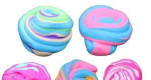 Разноцветные слаймы