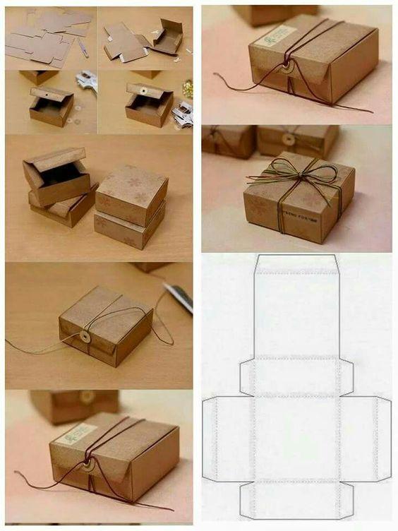 Как сделать коробку из бумаги: мк 2