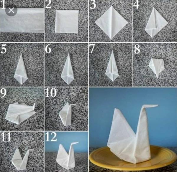 Как сделать из бумаги квадрат оригами