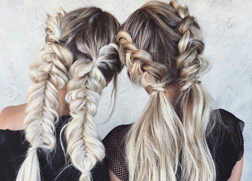 Элегантные женские косы