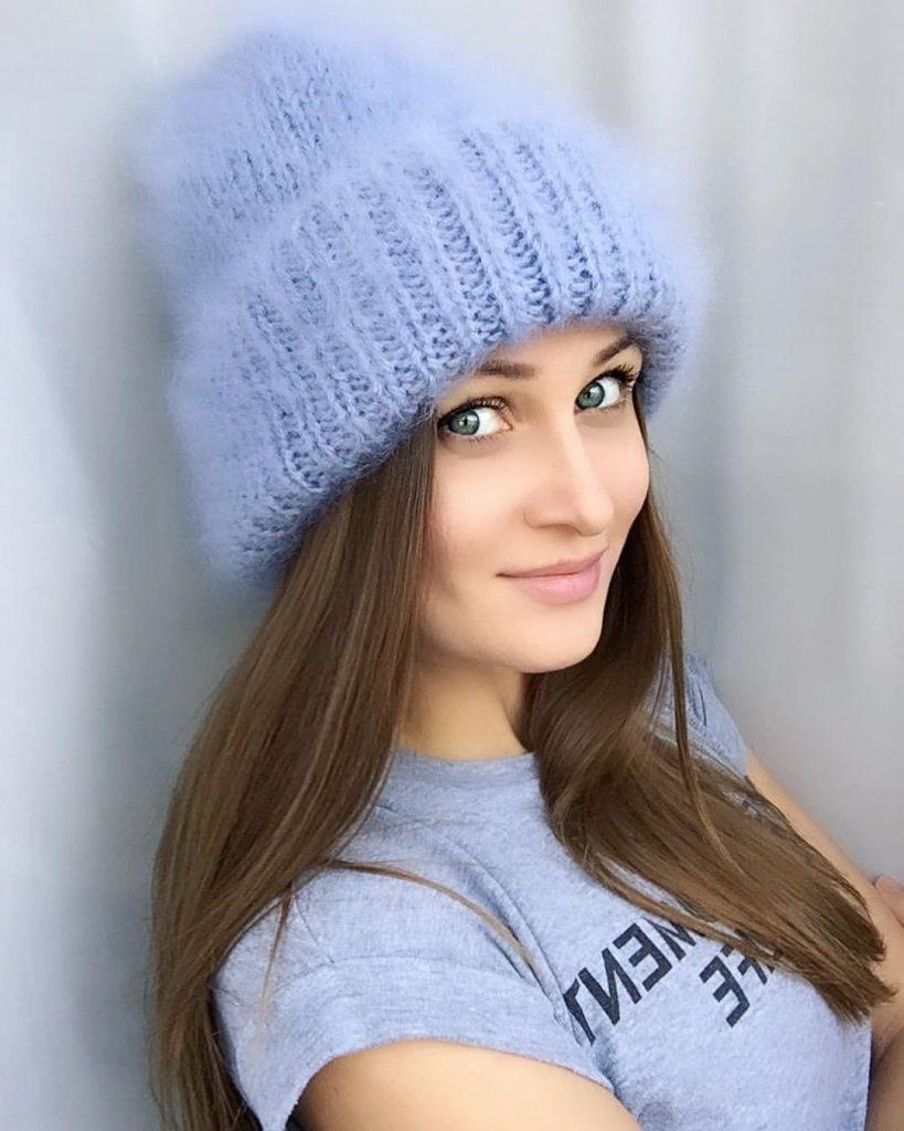 Пушистые шапки фото 1