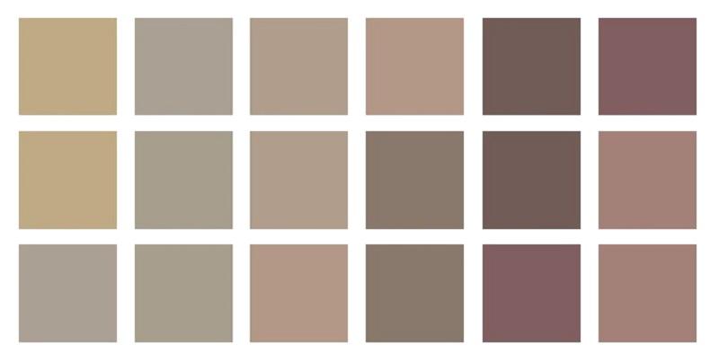 Цвет тауп 2020-2021