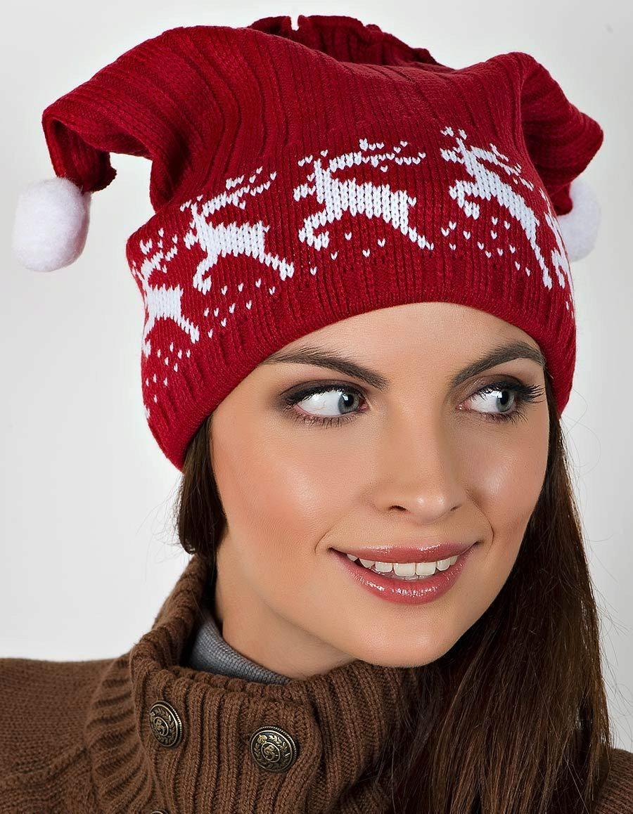 Зимние мотивы на шапках 2020 фото 2