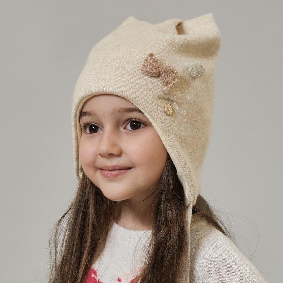 Детские вязаные шапки 2020 фото 3