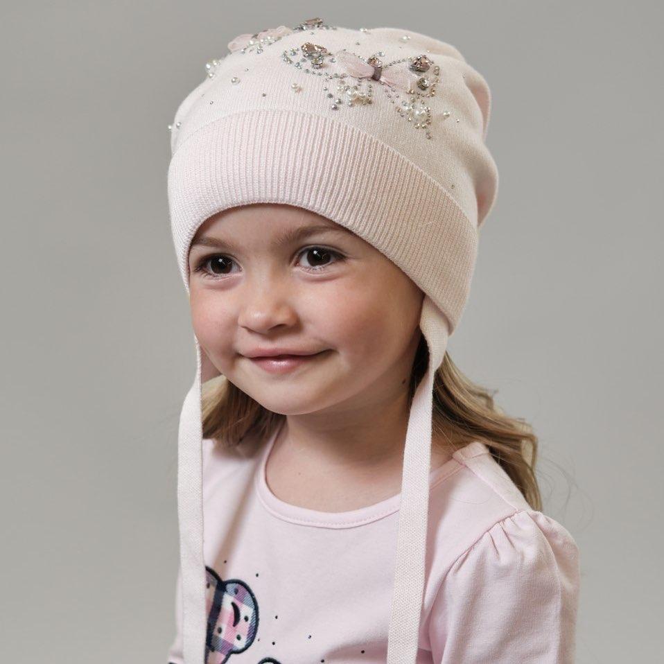 Детские вязаные шапки 2020 фото 4