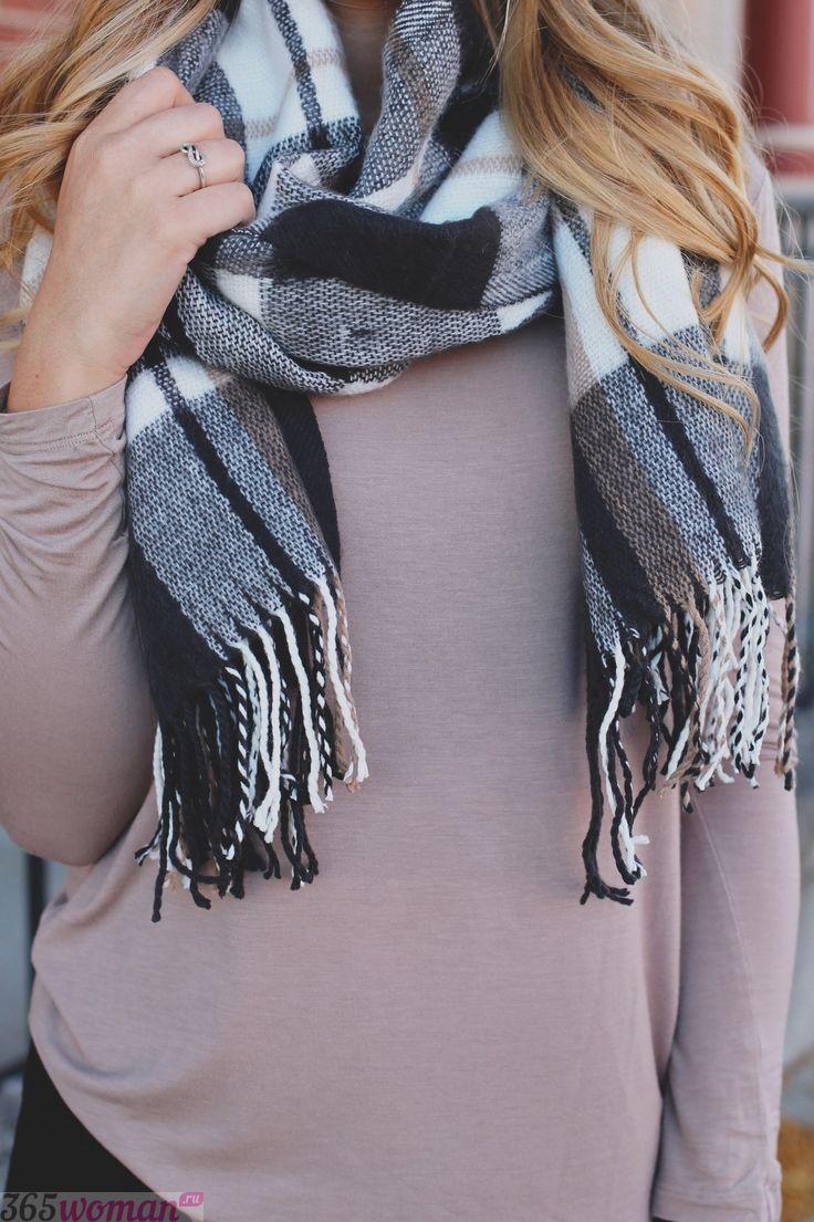 Модные женские шарфы 2020г: обзор трендов осени-зимы