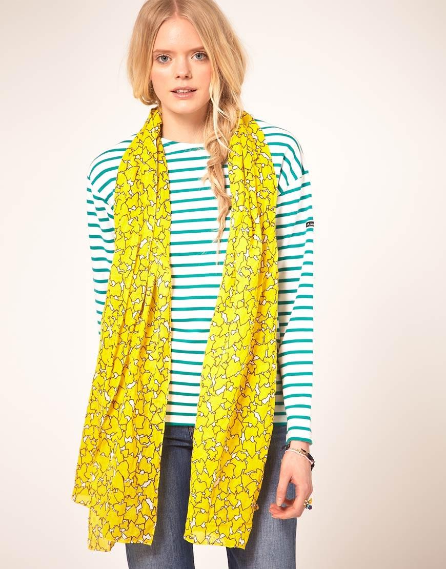 Расцветки шарфов фото 4