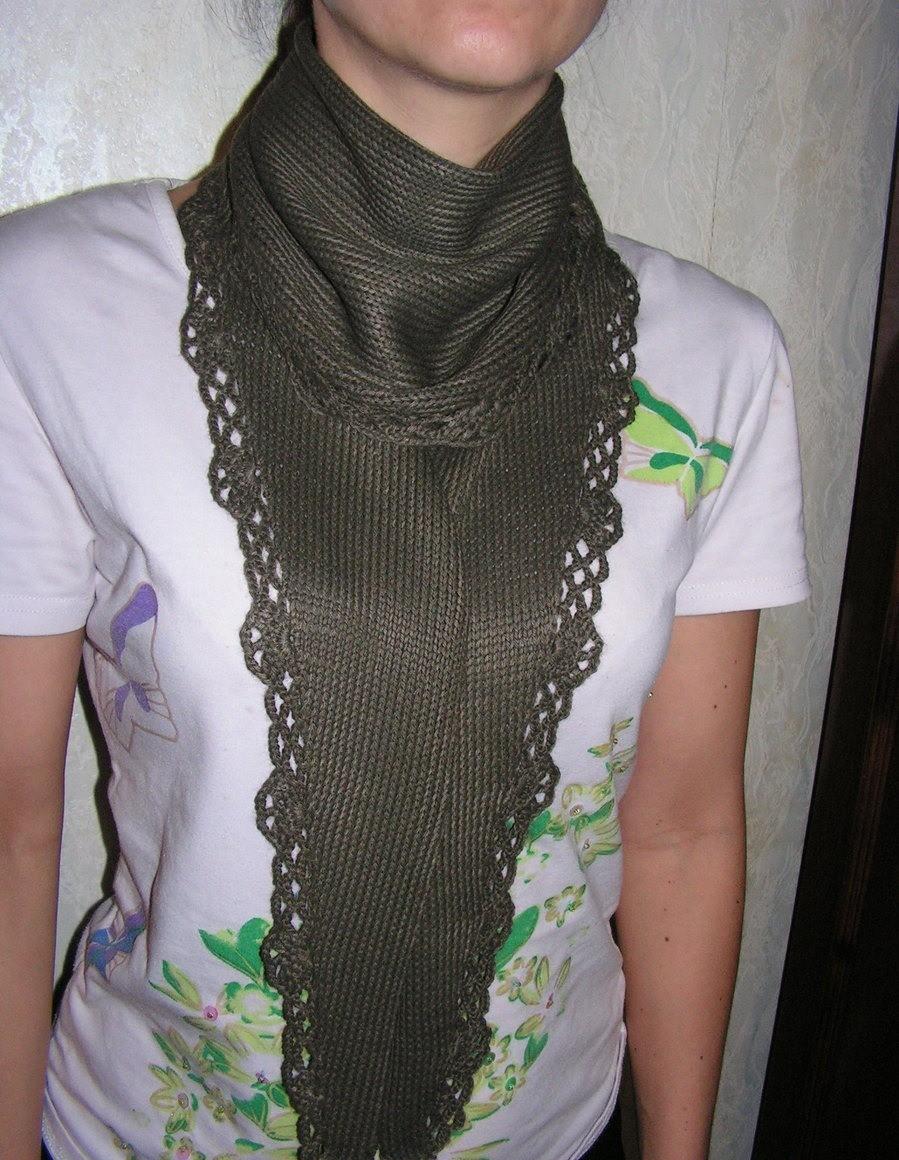 Необычные шарфы фото 2