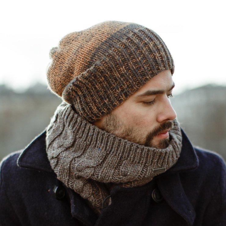 Мужской шарф фото 2
