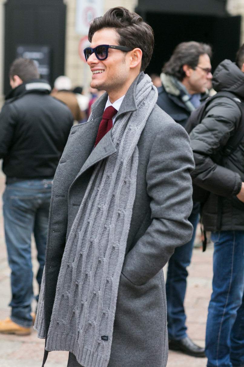Мужской шарф фото 4