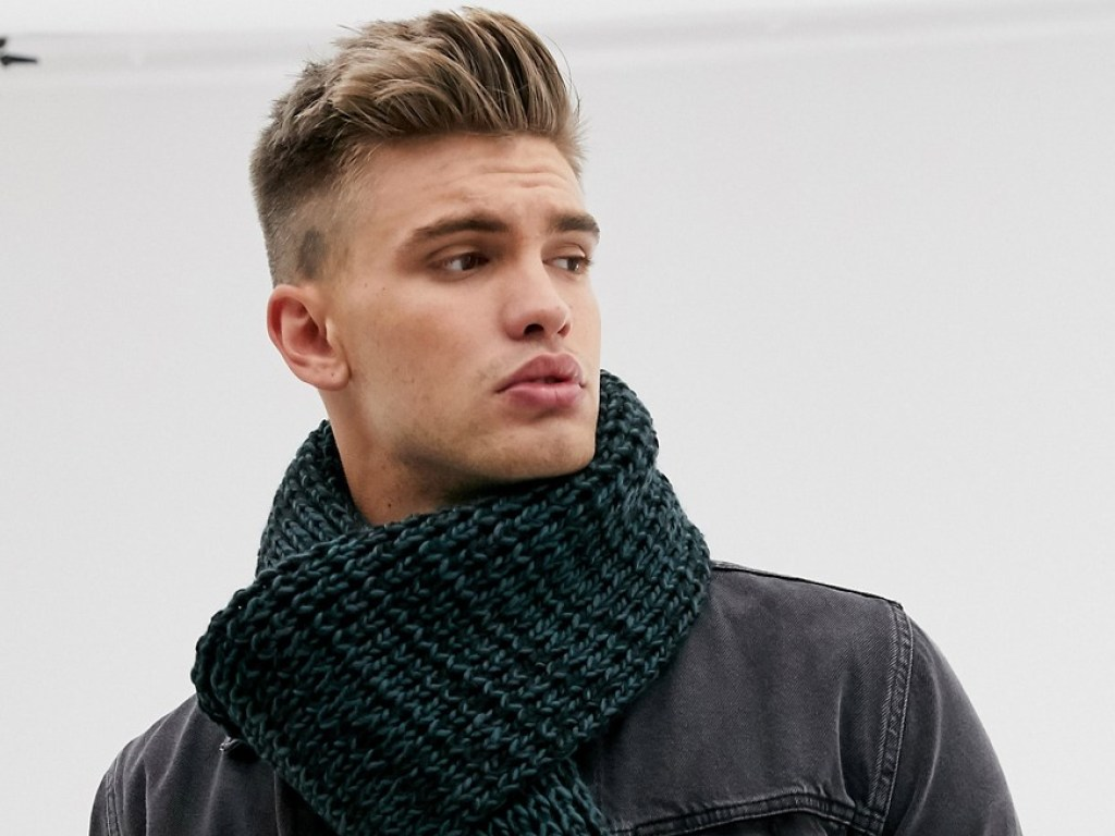 Мужской шарф фото 5