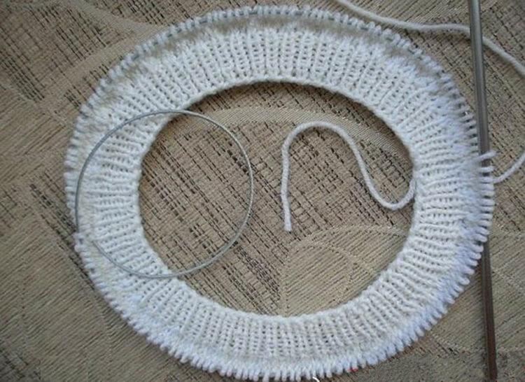Описание вязания берета фото 1