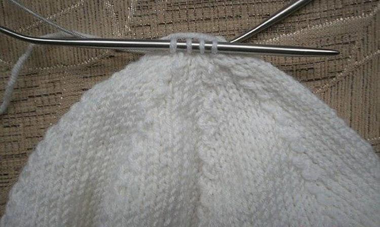 Описание вязания берета фото 4